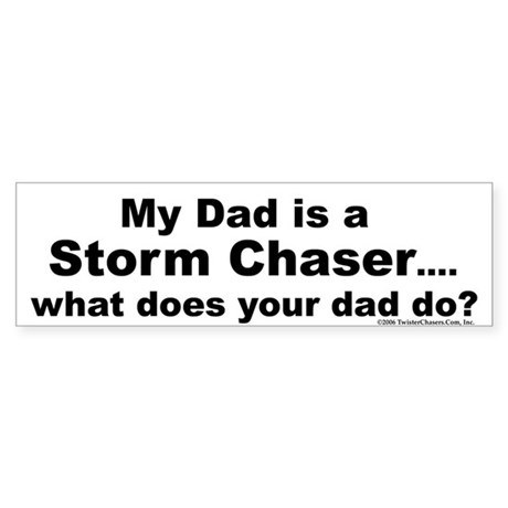 Twister Chasers Bumper Sticker
