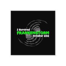 """Frankenstorm Square Sticker 3"""" x 3"""""""
