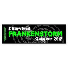 Frankenstorm Bumper Sticker