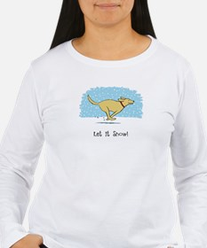 Labrador Snow Holiday T-Shirt