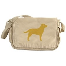 Yellow Lab Messenger Bag
