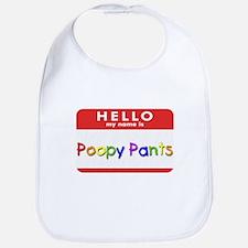 Poopy Pants Bib