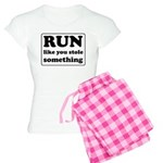 Funny sports quote Women's Light Pajamas