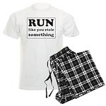 Funny sports quote Men's Light Pajamas