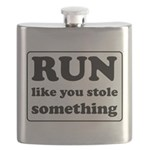 Funny sports quote Flask