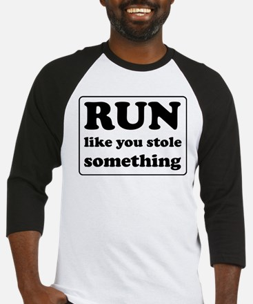 Funny sports quote Baseball Jersey