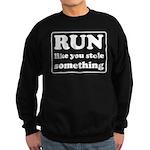 Funny sports quote Sweatshirt (dark)