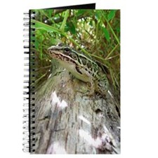 Frog on a log Journal