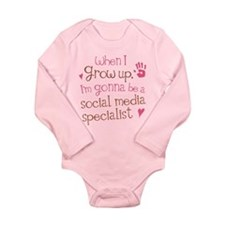 Future Social Media Specialist Long Sleeve Infant