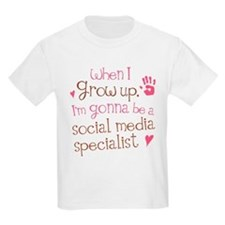 Future Social Media Specialist T-Shirt