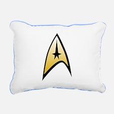 Star Trek Insignia Rectangular Canvas Pillow