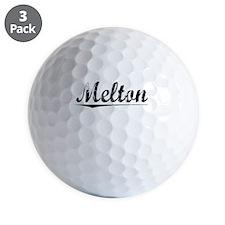 Melton, Vintage Golf Ball