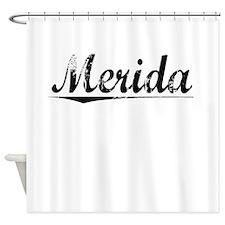 Merida, Vintage Shower Curtain