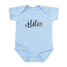 Miles, Vintage Infant Bodysuit