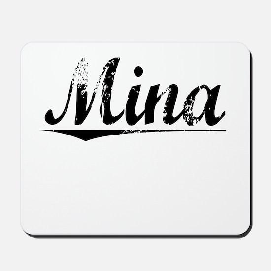 Mina, Vintage Mousepad