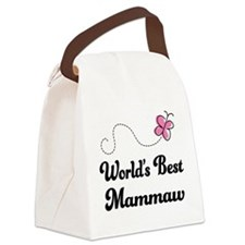 Worlds Best Mammaw Canvas Lunch Bag