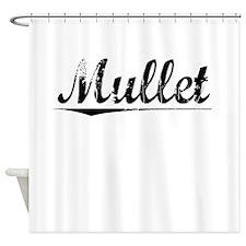Mullet, Vintage Shower Curtain