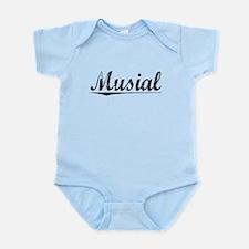Musial, Vintage Infant Bodysuit