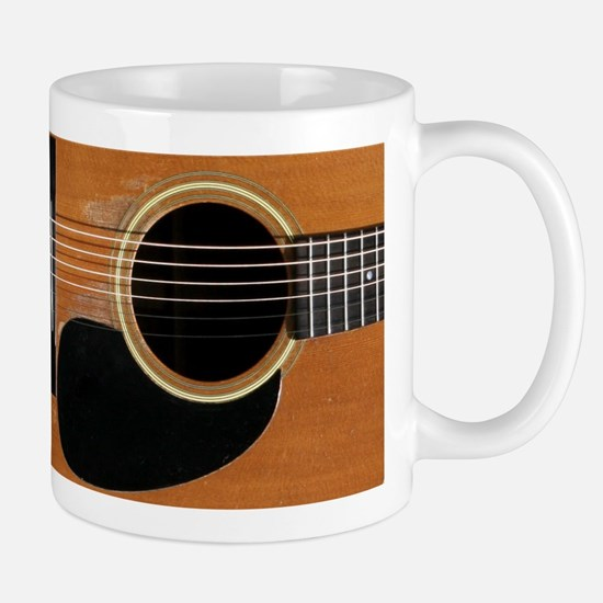 Old, Acoustic Guitar Mug