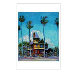 San Diego Victorian Mansion Postcards (Package of
