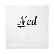 Ned, Vintage Queen Duvet