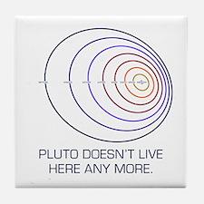 Pluto Lives Tile Coaster