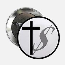"Atheist, Church and Money 2.25"" Button"