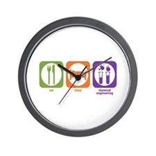 Chemical Engineering Wall Clock