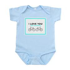 Bike Love Infant Bodysuit