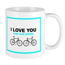 Bike Love Small Mug