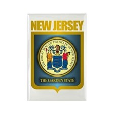 New Jersey Seal (B) Rectangle Magnet
