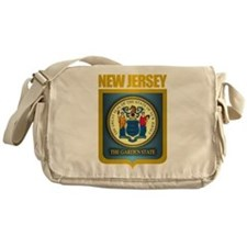 New Jersey Seal (B) Messenger Bag