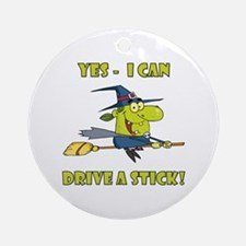 YES, I CAN... Ornament (Round)