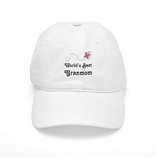 Granmom (Worlds Best) Baseball Cap