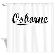 Osborne, Vintage Shower Curtain