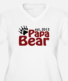 Papa Bear New Dad 2013 T-Shirt