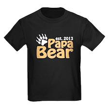 Papa Bear New Dad 2013 T