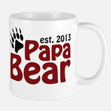 Papa Bear New Dad 2013 Mug