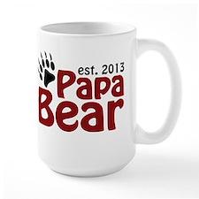 Papa Bear New Dad 2013 Mug