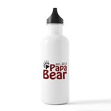 Papa Bear New Dad 2013 Water Bottle