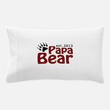 Papa Bear New Dad 2013 Pillow Case