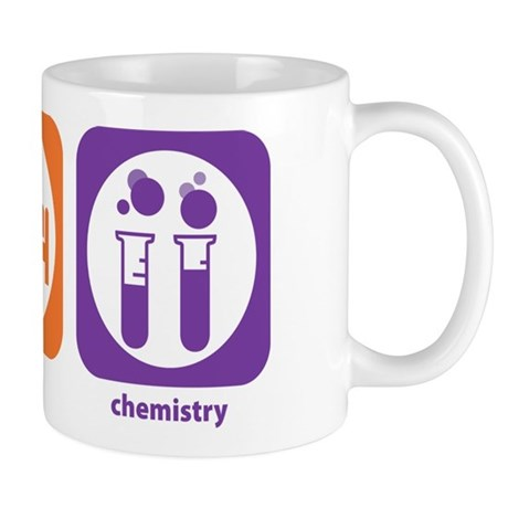 Eat Sleep Chemistry Mug