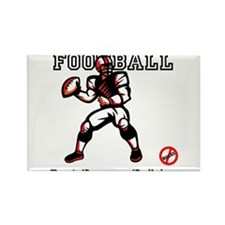 football anti bullying Rectangle Magnet