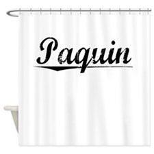 Paquin, Vintage Shower Curtain