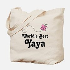 Yaya (Worlds Best) Tote Bag