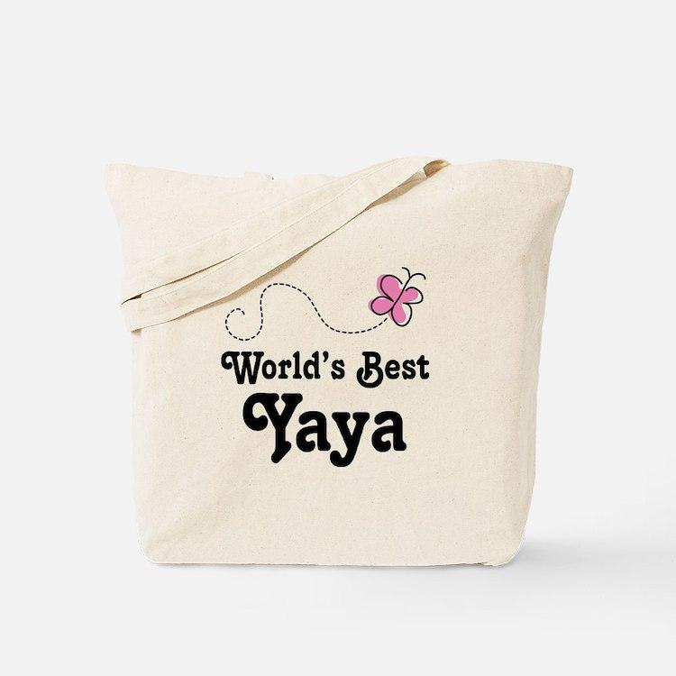 Yaya (Worlds Best) Tote Bag