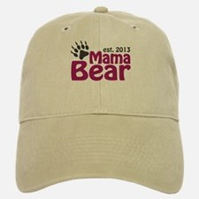 Mama Bear Claw Est 2013 Baseball Baseball Cap