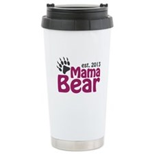 Mama Bear Claw Est 2013 Travel Mug