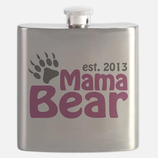 Mama Bear Claw Est 2013 Flask