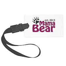 Mama Bear Claw Est 2013 Luggage Tag